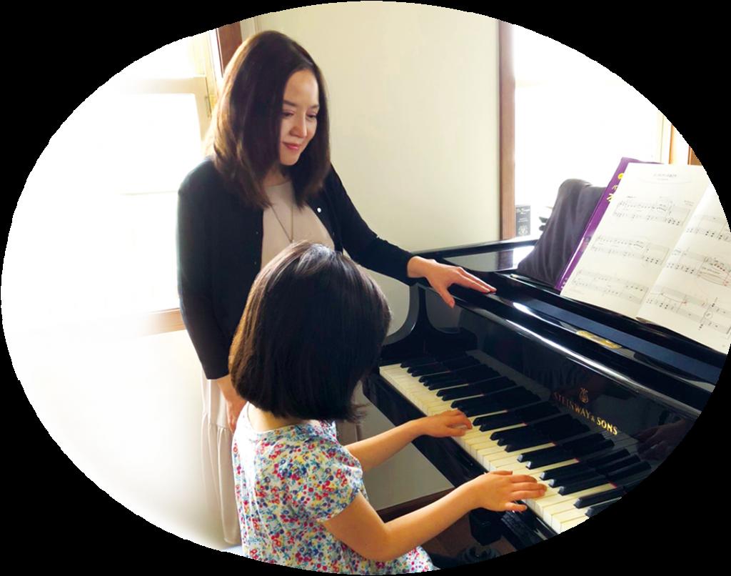 マメット音楽教室ピアノレッスン風景2
